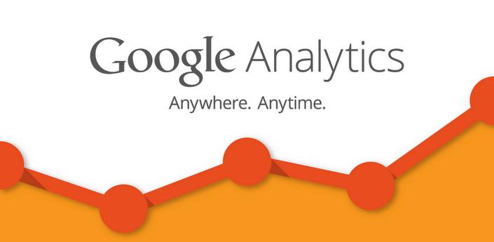 Application Android de Google Analytics