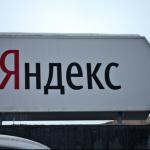 Yandex, le moteur de recherche russe qui concurrence Google.