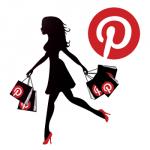 Référencement Pinterest e-commerce - femme qui magasine sur Pinterest