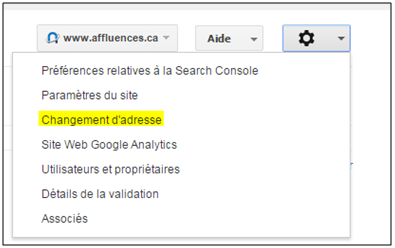 Search Console référencement refonte image de marque