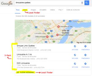 3-pack algorithme recherche locale update