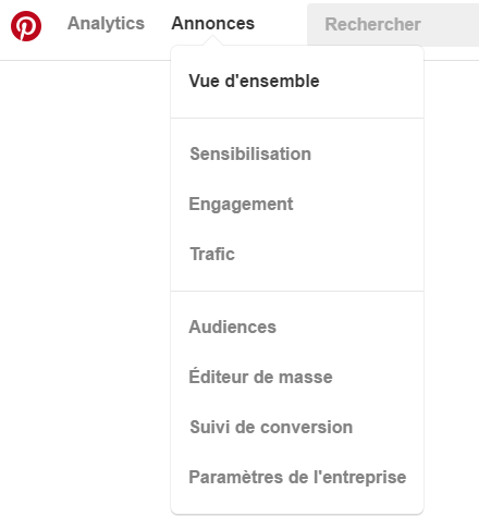 pinterest audiences
