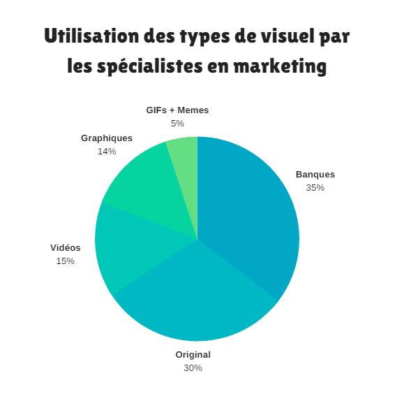 types contenu visuel