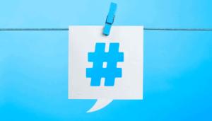 hashtag de Twitter