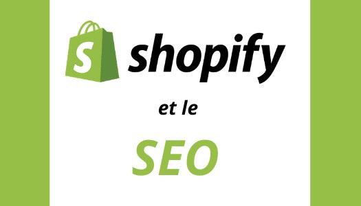 Shopify et le SEO